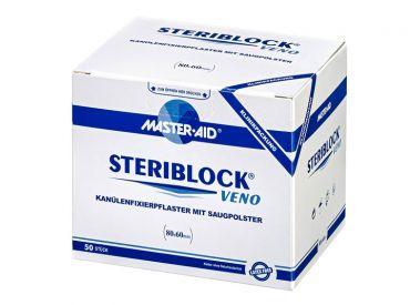 Plasture pentru fixare canule Steriblock Veno, Master-Aid, 50 bucăți