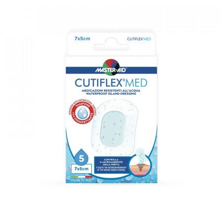 Pansament steril Cutiflex Med 7x5cm