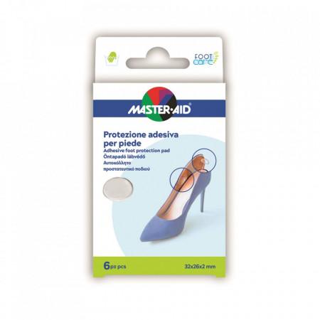 Protecții adezive din gel pentru picior, 6 buc