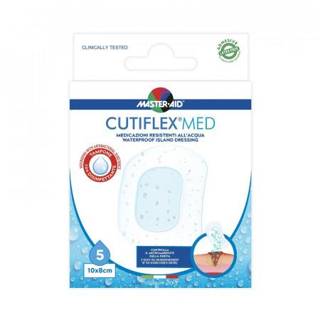 Pensament steril impermeabil cu antiseptic cutiflex med 10 x 8 cm