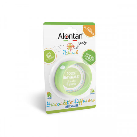 Alontan Natural – Brățară anti insecte, 2 buc