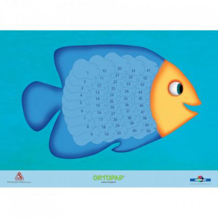 Poster recompensă ocluzoare copii Ortopad PEȘTIȘOR