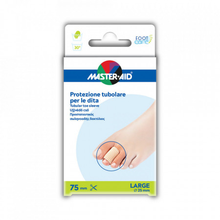 Protecție tubulară deget picior - Foot Care, 2 bucăți