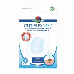 Pansament impermeabil steril Cutiflex Med Steril Master-Aid, 10x12 cm, 5 bucăți