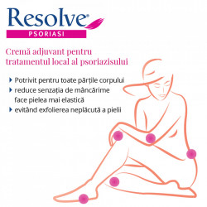 Resolve Psoriasi cremă adjuvant în tratamentul local al psoriazisului 100 ml