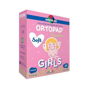 Ortopad Soft Girls – Ocluzoare colorate pentru fetițe, Master-Aid, 20 bucăți