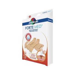 Plasturi Forte Med, Master-Aid, ultra-rezistenți, 5 mărimi, 40 bucăți