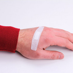 Plasturi Quadra Med, Master-Aid, pentru piele sensibilă, 5 mărimi, 40 bucăți