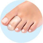 Protecție gel pentru deget picior - Foot Care, 2 bucăți