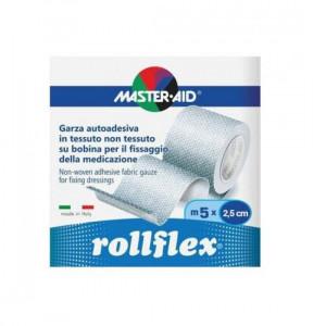 Banda adeziva pentru piele sensibila Rollflex 2.5 cm x 5 m
