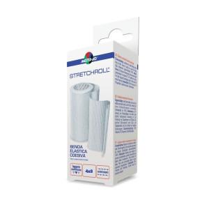 Bandaj elastic autoadeziv Stretchroll Master-Aid, 4mx8cm