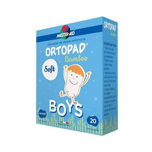 Ortopad Soft Boys – Ocluzoare colorate pentru băieți, 20 buc