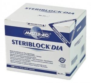 Plasture hemostatic Steriblock Dia Master-Aid, 100 bucăți