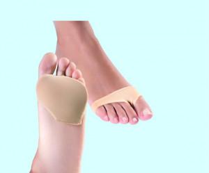 Manşon cu gel pentru protecție metatarsiana - Foot Care, 2 buc Small
