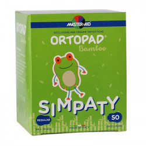 Ocluzor Ortopad Simpaty, Master-Aid, pentru copii, Regular, 85x59 mm, 50 bucăți