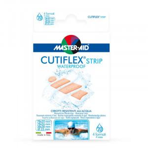 Plasturi impermeabili Cutiflex Strip Master-Aid, Asortat 4 mărimi, 20 bucăți