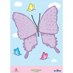Poster recompensa ocluzoare copii Ortopad FLUTURE