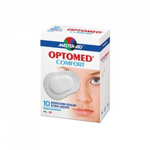 Optomed Comfort – Comprese oculare sterile autoadezive, 10 buc