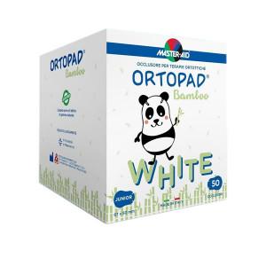 Ortopad – Ocluzoare albe pentru copii, 50 buc