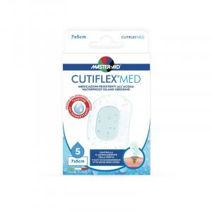 Pansament impermeabil steril Cutiflex Med, Master-Aid, 7x5 cm, 5 bucăți