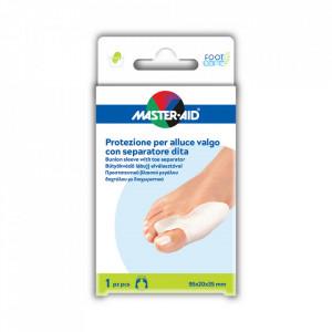 Protecţie monturi cu separator degete Foot Care 1 buc