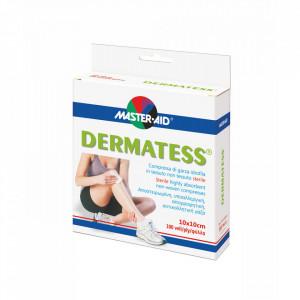 Comprese sterile Dermatess din material nețesut 10×10 cm