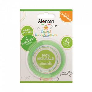 Brățară reglabilă anti-insecte, Alontan Natural, 2 bucăți