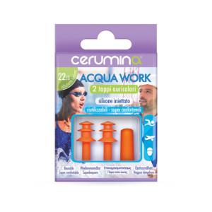 Cerumina ACQUA WORK – dopuri pentru urechi din silicon injectat, 2 bucăți