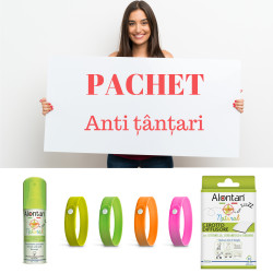 Pachet anti țânțari Alontan Natural