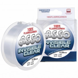 Fir ASSO Fluorocarbon Invisible Clear 0.11mm 50m