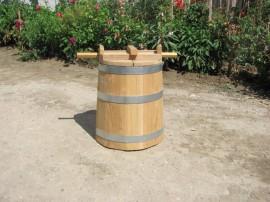 Poze Putina din lemn pentru muraturi 50 litri