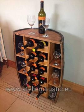 Poze Minibar luxury lemn masiv