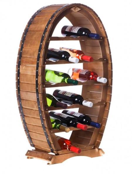 Poze Raft din lemn  masiv  20 sticle  vin