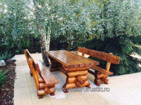 Poze Set terasă lemn