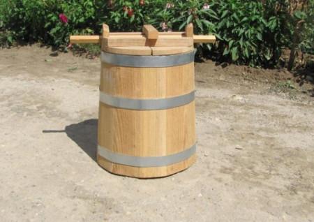 Poze Putina din lemn 80 litri