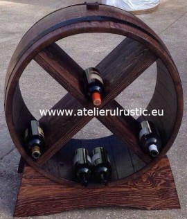 Poze Raft rotund  din lemn masiv