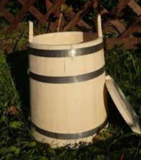Putina din lemn 80 litri