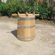Putina din lemn pentru muraturi 50 litri