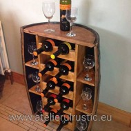 Minibar luxury lemn masiv