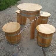 Set masa cu 4 scaunele