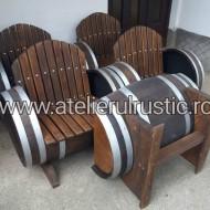 Set masă  cu 4 fotolii