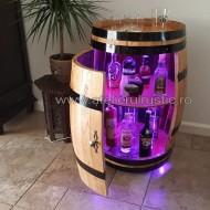 Bar din lemn cu led