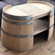 Masa din lemn masiv living