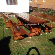Set terasă lemn