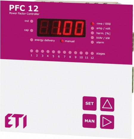 Controler putere reactiva PFC RS - maxim 12 trepte
