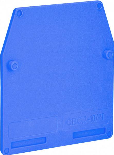 Piesa de capat albastra 2.5-10mm