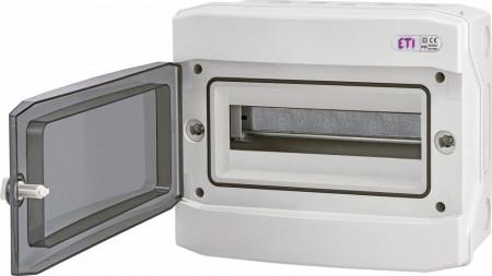Tablou electric aparent, 12 module, IP 65, ETI