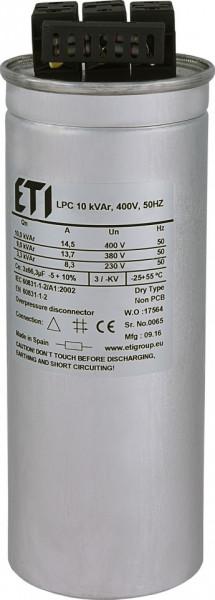 Condensator trifazic LPC 10 kVAr, 400V, 50Hz