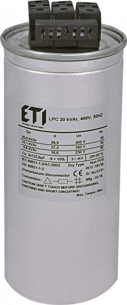 Condensator trifazic LPC 20 kVAr, 400V, 50Hz
