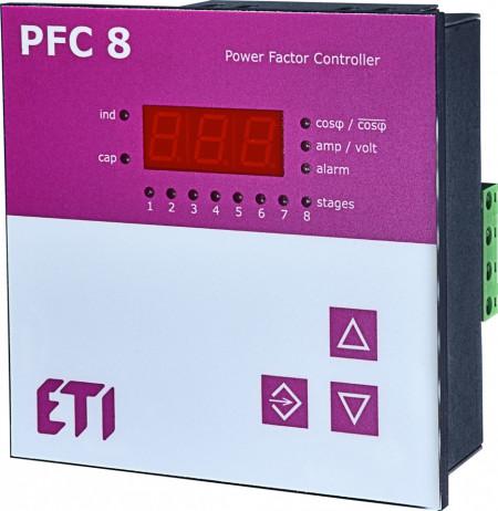 Controler putere reactiva PFC RS - maxim 8 trepte